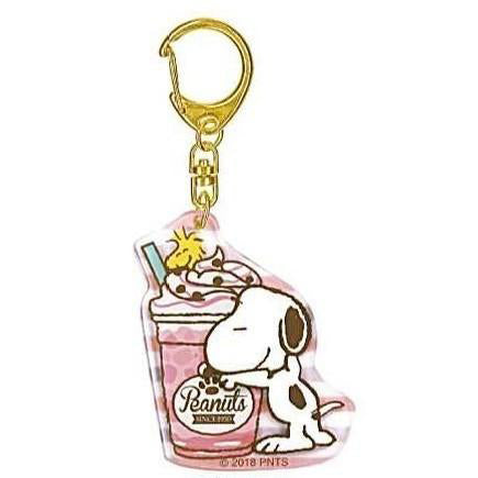 Snoopy Drink Acrylic Key Ring