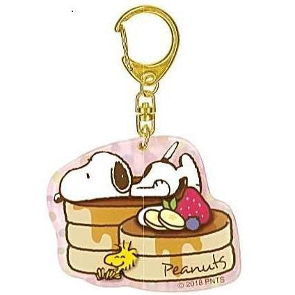 Snoopy Pancake Acrylic Key Ring