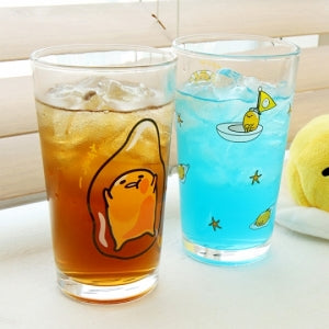 Gudetama Glass Cup