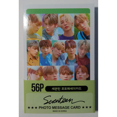 Seventeen New Mini Post Card Photocards Set (Released 2020/01) (56pcs)