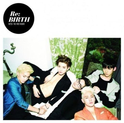 NU'EST 1ST ALBUM 'RE:BIRTH'