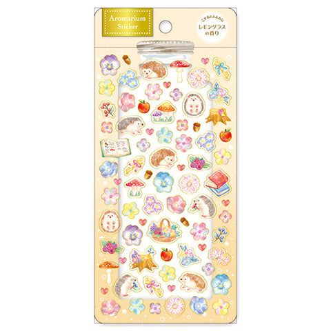 Aroma Scented Sticker Forest Hedgehog