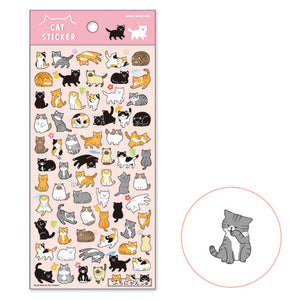 Cat Sticker PuchiPuchi