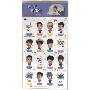 SUPER JUNIOR Standing Sticker