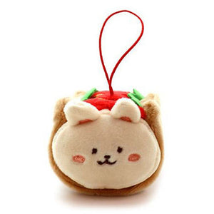 Anirollz - Bunniroll Hot Dog Plush Keychain