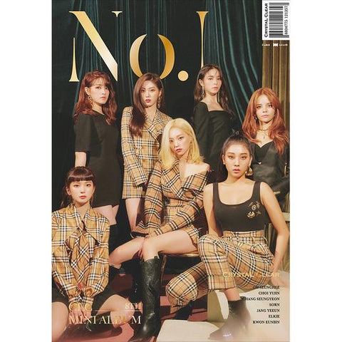 CLC 8TH MINI ALBUM 'NO.1' + POSTER
