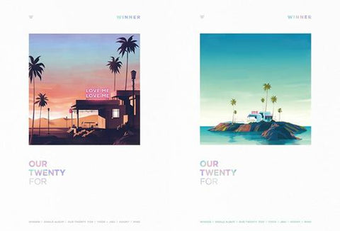 WINNER SINGLE ALBUM 'OUR TWENTY FOR' + POSTER