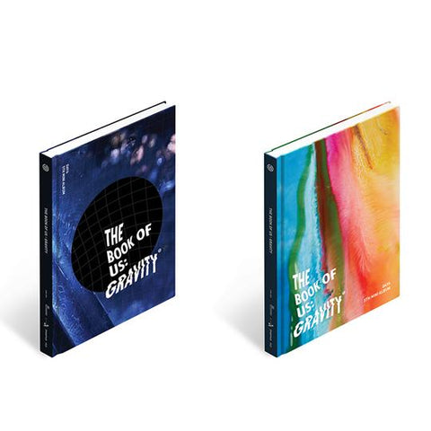 DAY6 5TH MINI ALBUM 'THE BOOK OF US : GRAVITY'