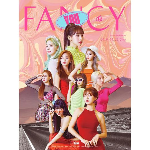 TWICE 7TH MINI ALBUM 'FANCY YOU' + POSTER