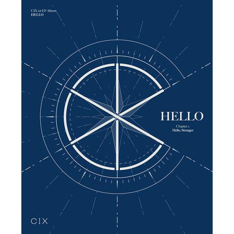 CIX 1ST MINI ALBUM 'HELLO CHAPTER 1. HELLO STRANGER'