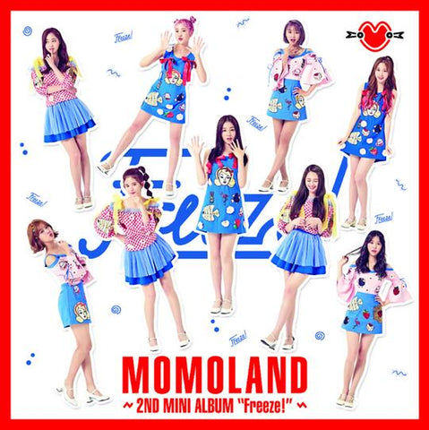 MOMOLAND 2ND MINI ALBUM 'FREEZE!'