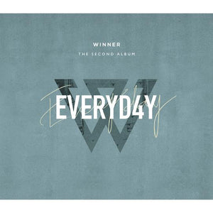 WINNER 2ND ALBUM 'EVERYD4Y' + POSTER