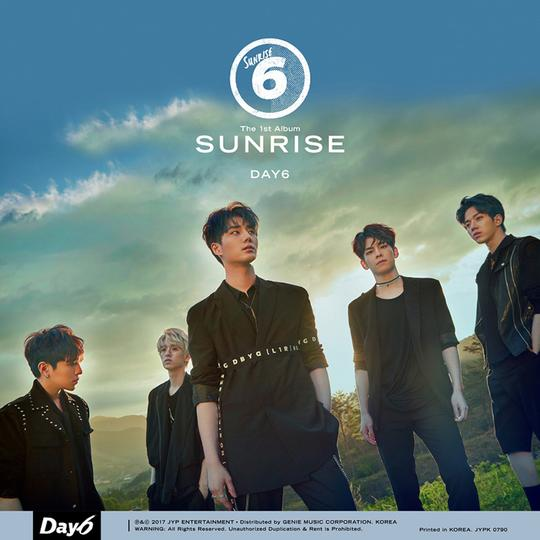 DAY6 FIRST ALBUM 'SUNRISE'