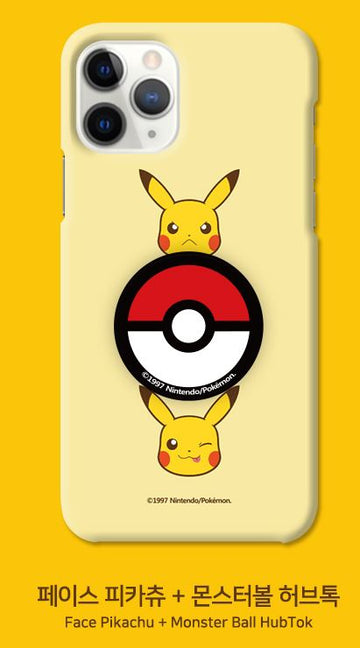 Pokemon Slim iPhone Case + Pop socket