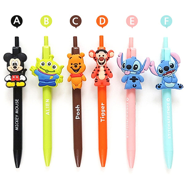 DISNEY SILICONE CHARACTER MASCOT MECH PENCIL