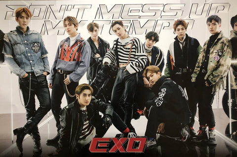 EXO 5TH ALBUM [DON'T MESS UP MY TEMPO] (VIVACE VER.) - OFFICIAL POSTER