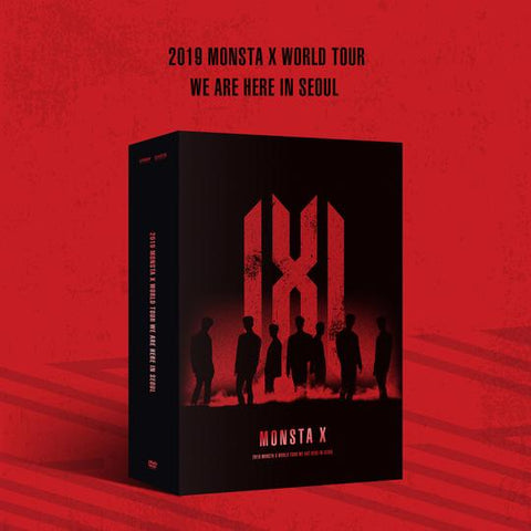 MONSTA X '2019 WORLD TOUR WE ARE HERE IN SEOUL' DVD