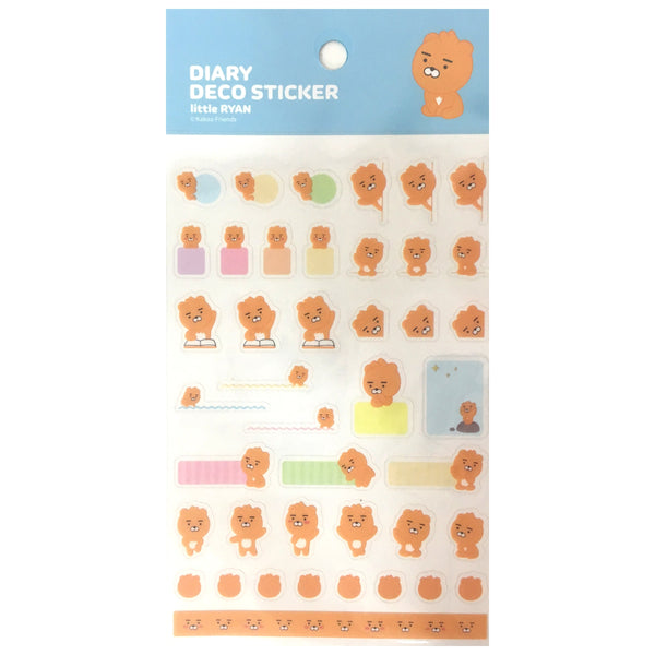 Kakao Friends Diary Deco Stickers