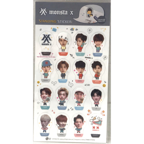 MONSTA X Standing Sticker