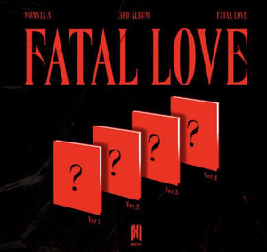MONSTA X 3RD ALBUM 'FATAL LOVE'