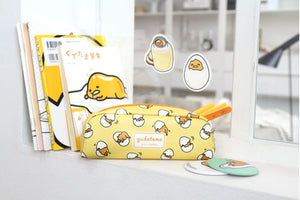 Gudetama Pencil Pouch Round Home