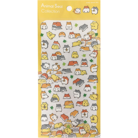 Mind Wave Hamster Stickers