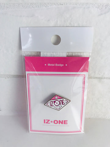 IZ ONE METAL BADGE