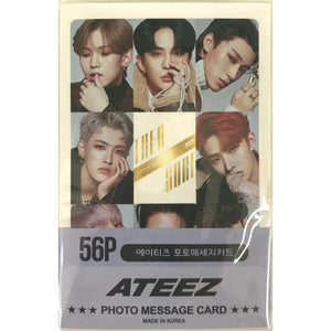ATEEZ Photo Message Card