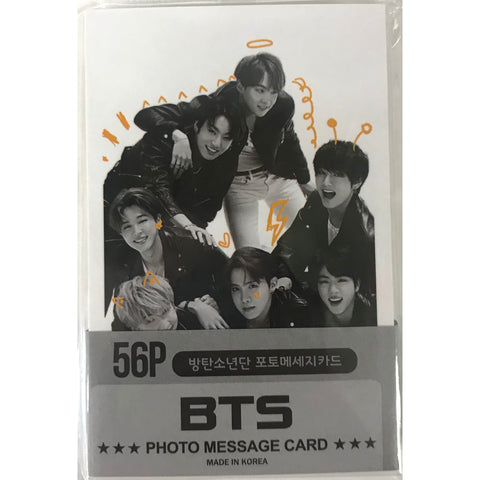 BTS Photo Message Card