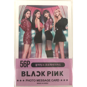 BLACKPINK Photo Message Card Ver. 2