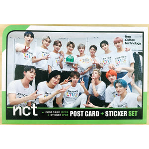 NCT Postcard and Sticker Set