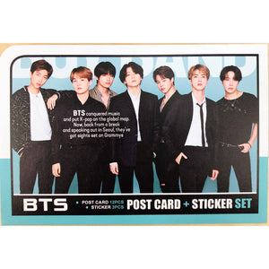 BTS Postcard and Sticker Set Ver. 2