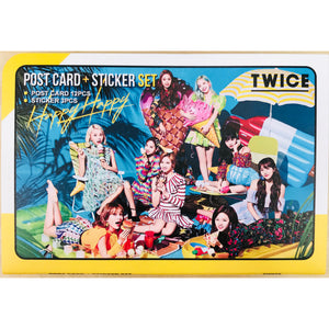 TWICE Postcard and Sticker Set