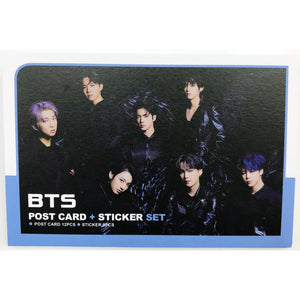 BTS Postcard and Sticker Set