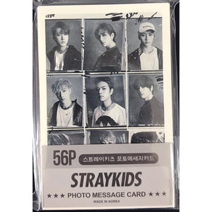 STRAY KIDS Photo Message Card