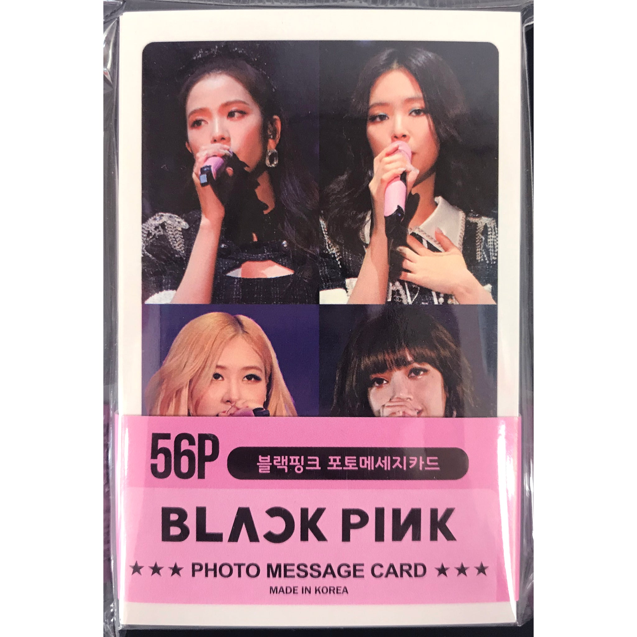 BLACKPINK Photo Message Card Ver. 3