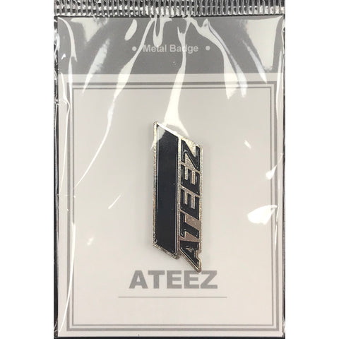 Ateez Metal Badge