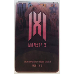 Monsta X Transparent Cards Ver. 2