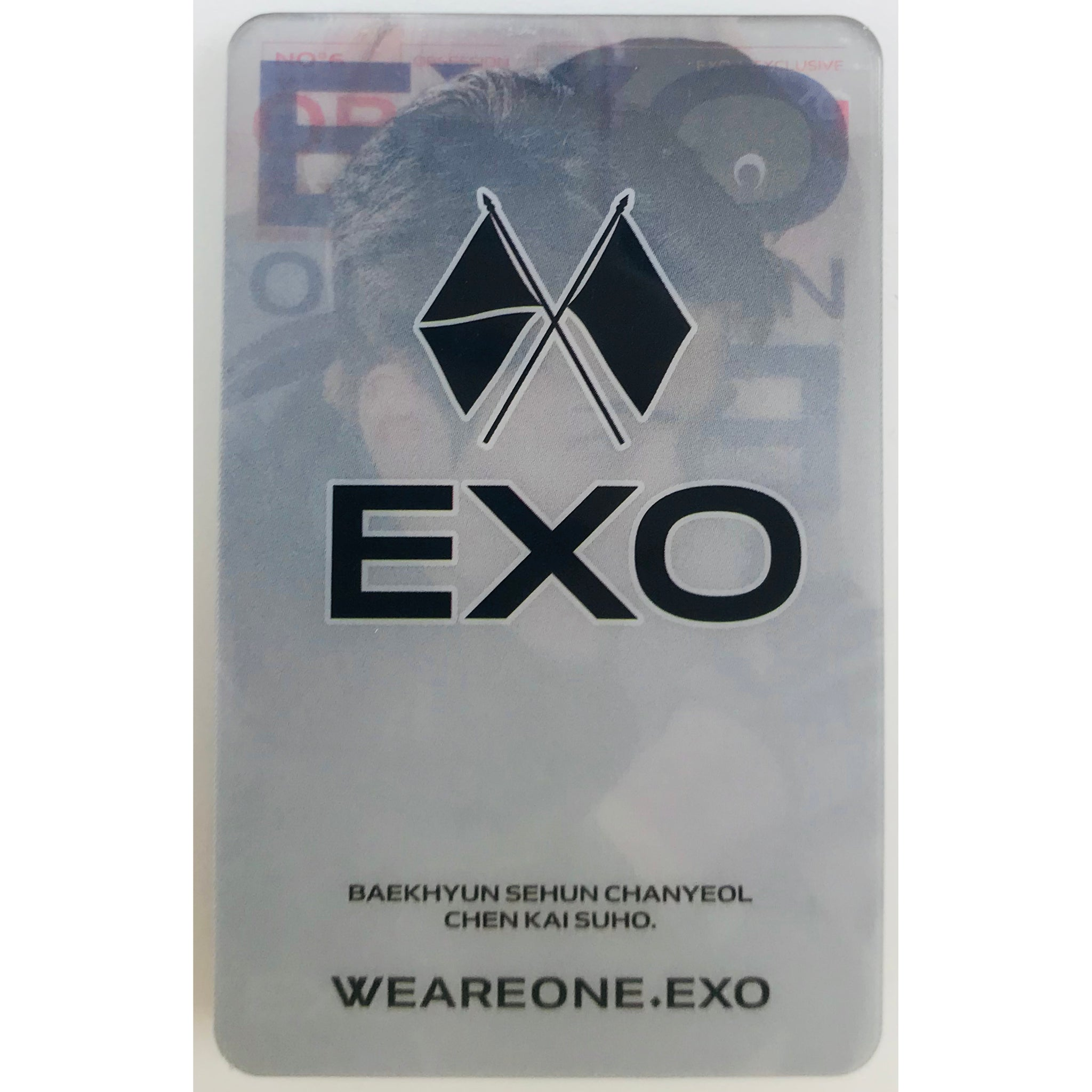 EXO Transparent Cards Ver. 2