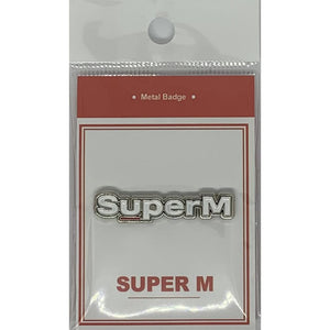 SuperM Metal Badge