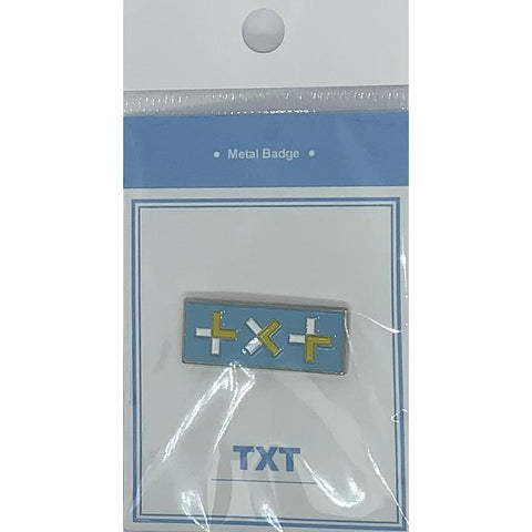 TXT Metal Badge