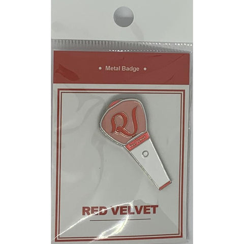 Red Velvet Metal Badge