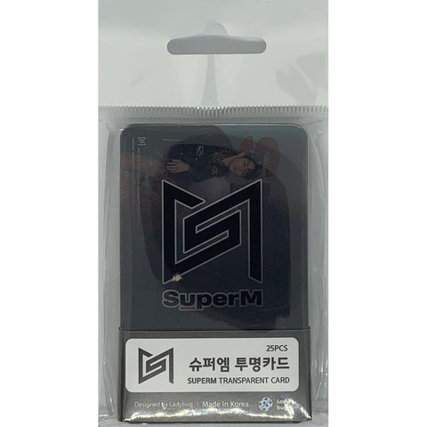 SuperM Transparent Cards