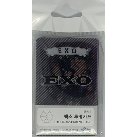 EXO Transparent Cards