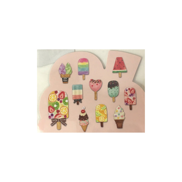 Mind Wave Ice Cream Die Cut Stickers
