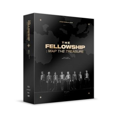 ATEEZ WORLD TOUR THE FELLOWSHIP : MAP THE TREASURE SEOUL DVD