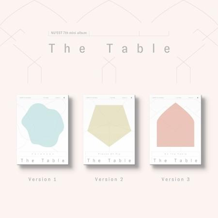 NU'EST 7TH MINI ALBUM 'THE TABLE'