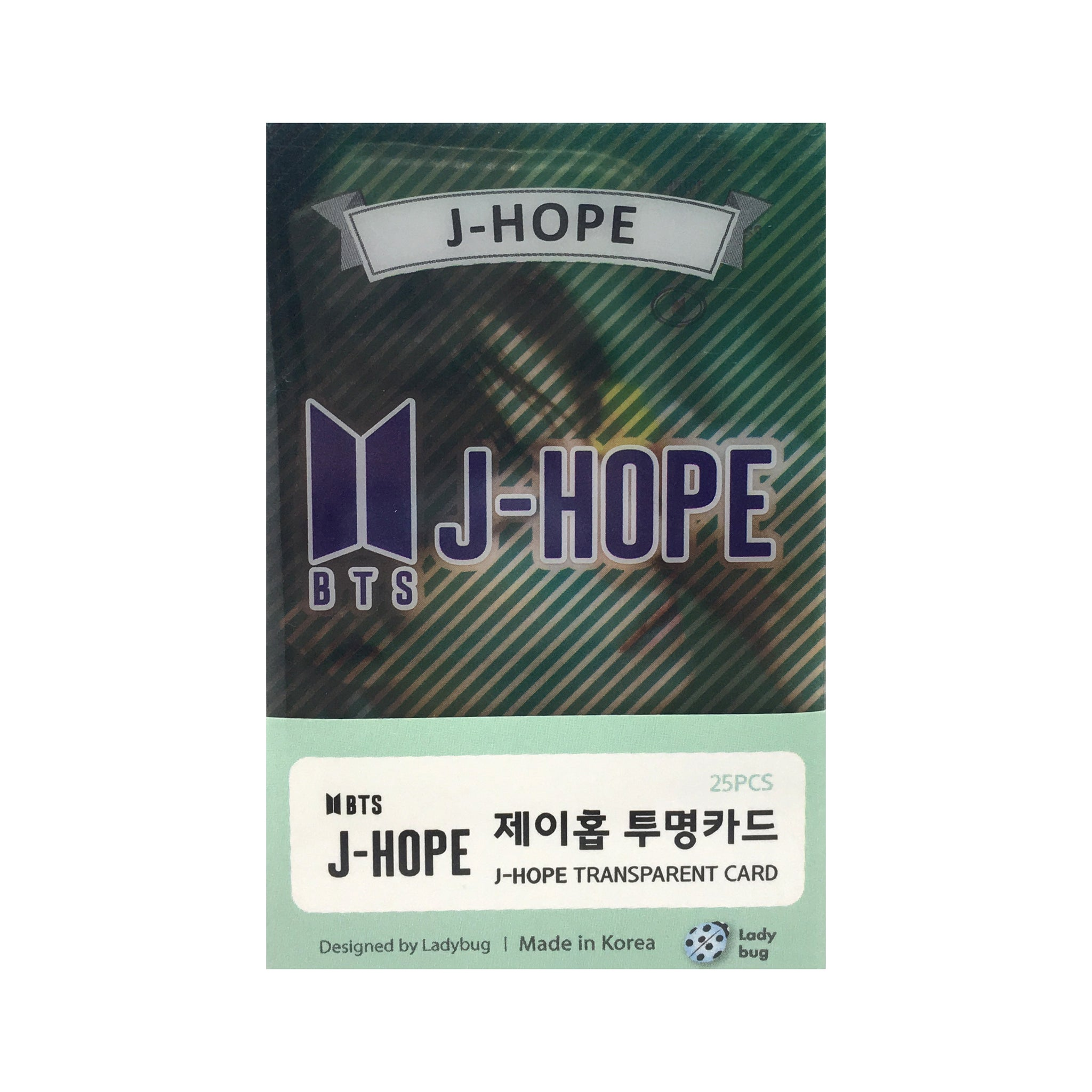 BTS J-Hope Transparent Cards