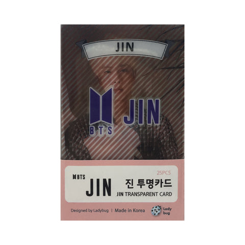 Jin Transparent Cards