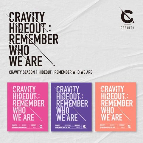 CRAVITY 'SEASON 1 HIDEOUT : REMEMBER WHO WE ARE'